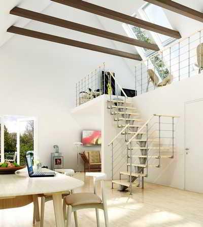 Услуги по изготовлению лестниц для дома через Интернет