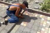 Укладка тротуарной плитки — цена за работу